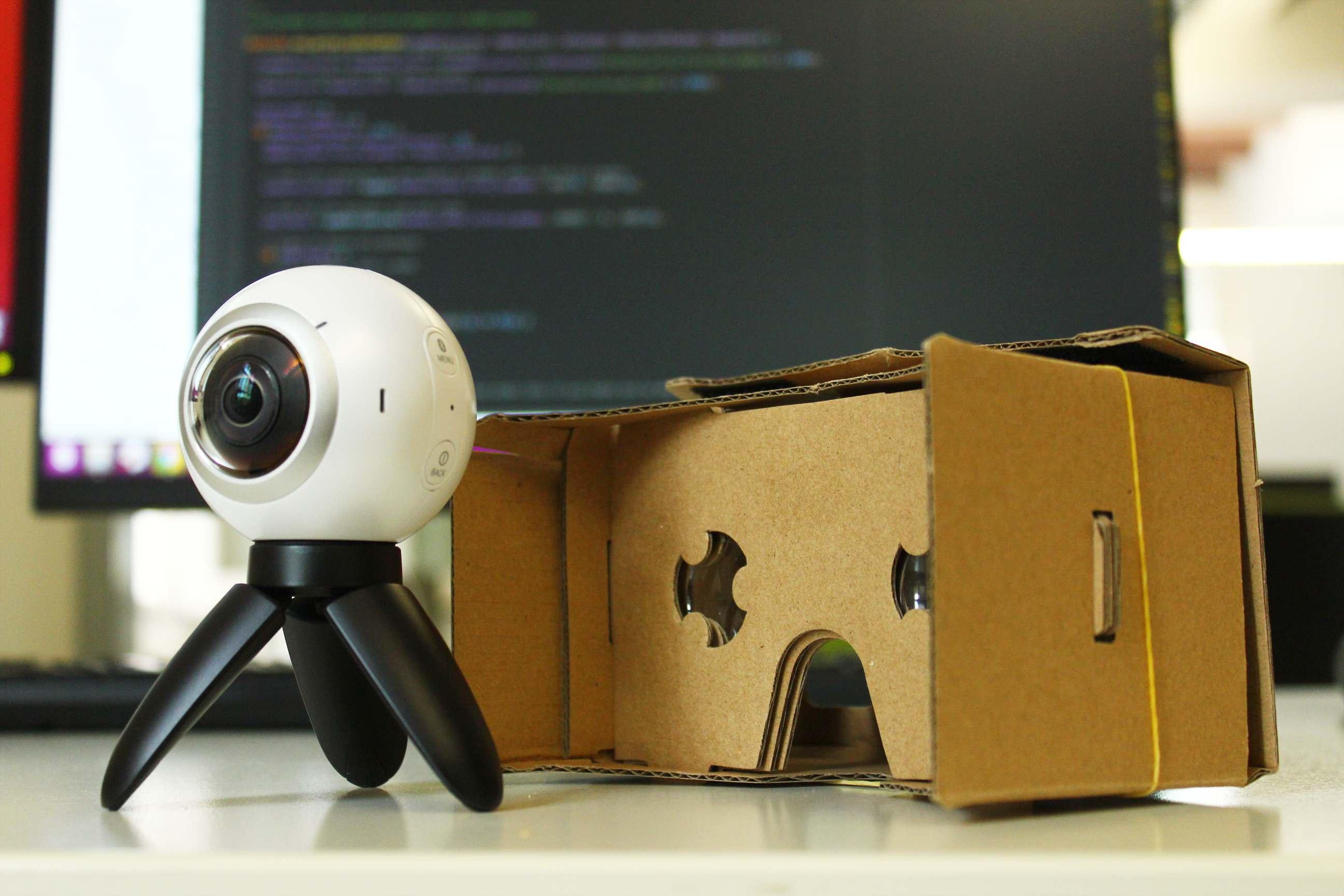 Gear 360 en cardboard