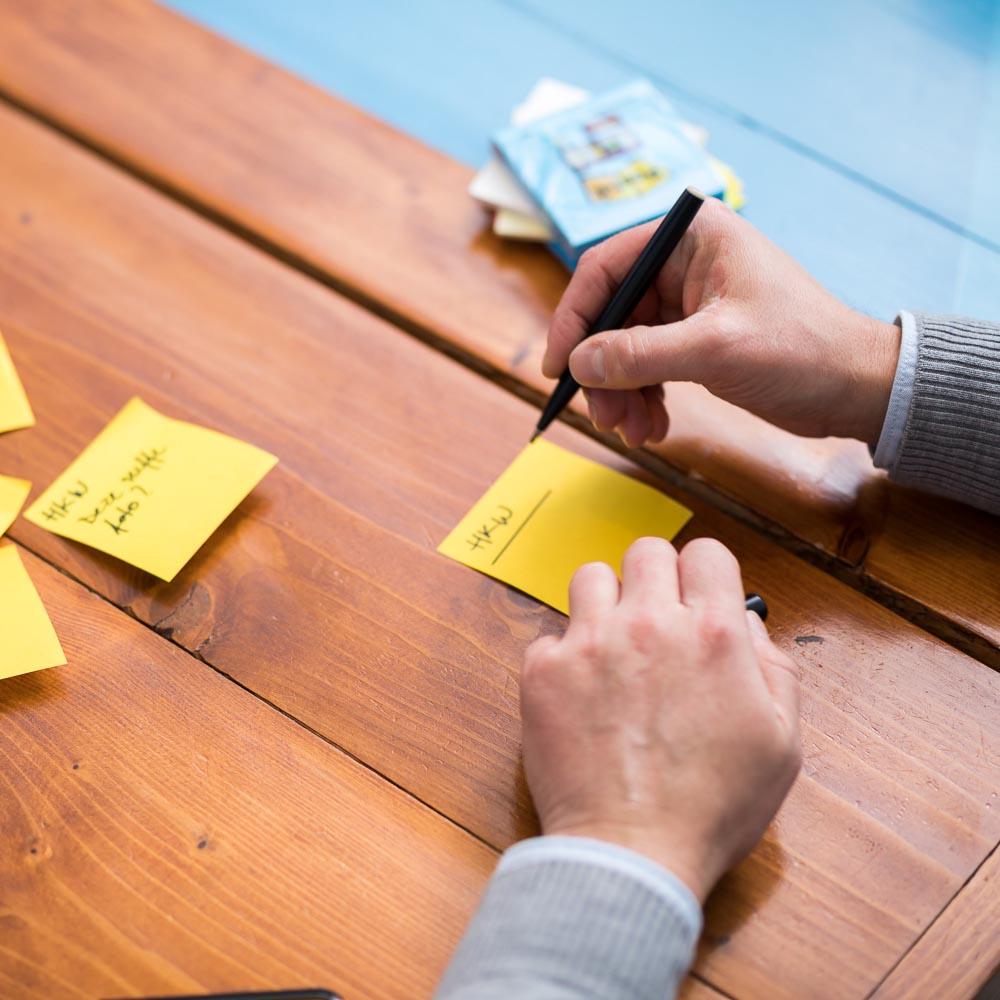 ideeen bedenken tijdens de design sprint