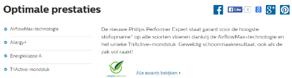 SEO product Philips