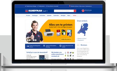 handyman responsive webshop
