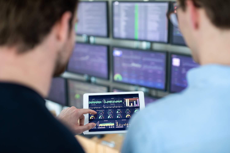Actieve monitoring van onze technologie oplossingen.