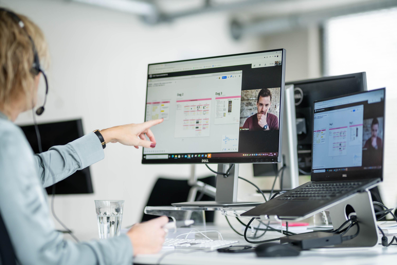 Een online samenwerking met behulp van een conversie optimalisatie tool
